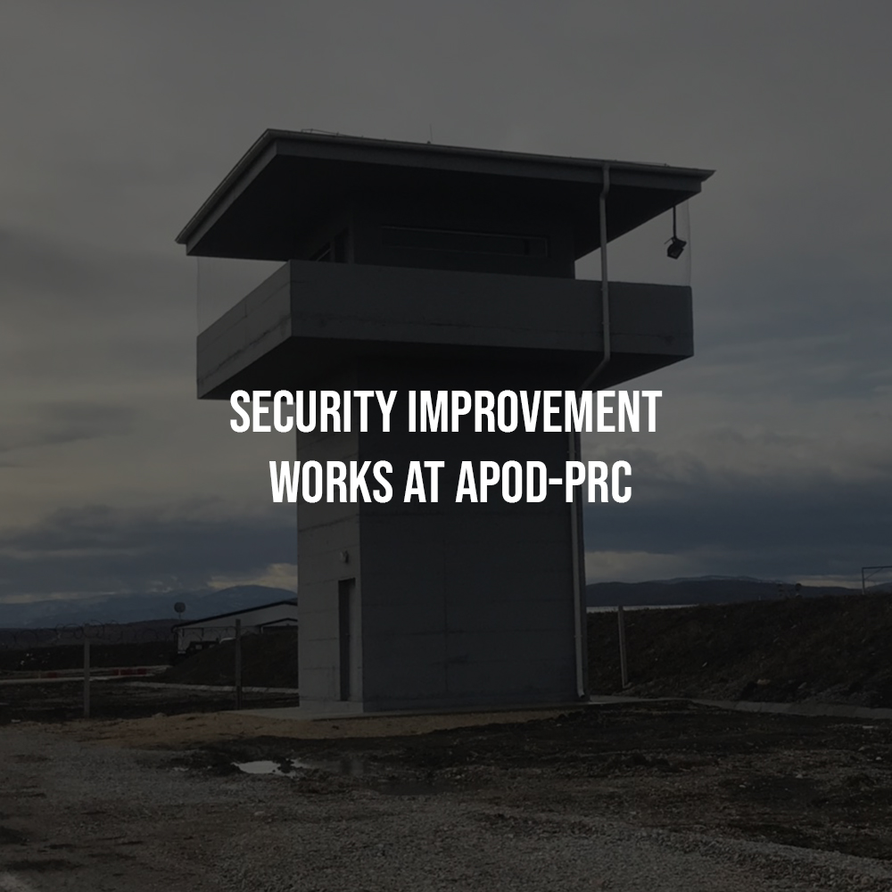 Security Improvement Works at APOD-PRC