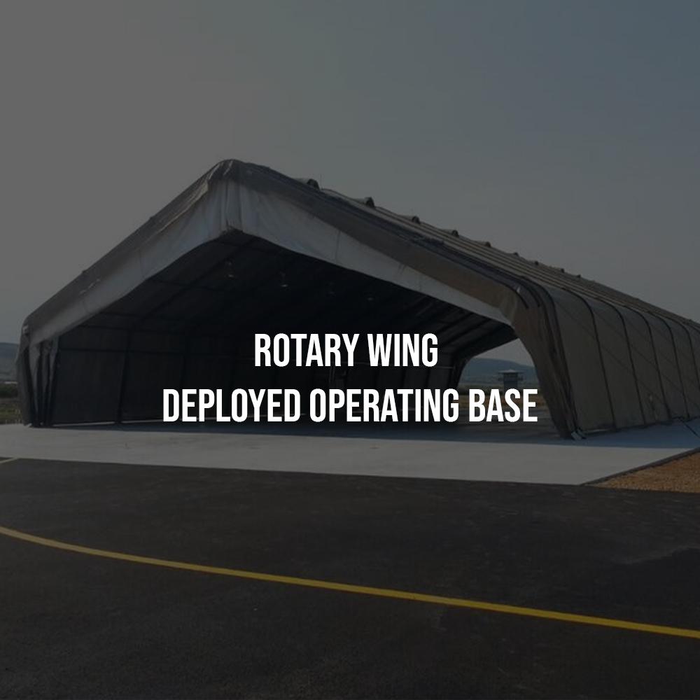 Rotary Wing Deployed Operating Base
